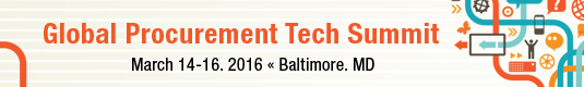 Register for the Global Procurement Technology Summit
